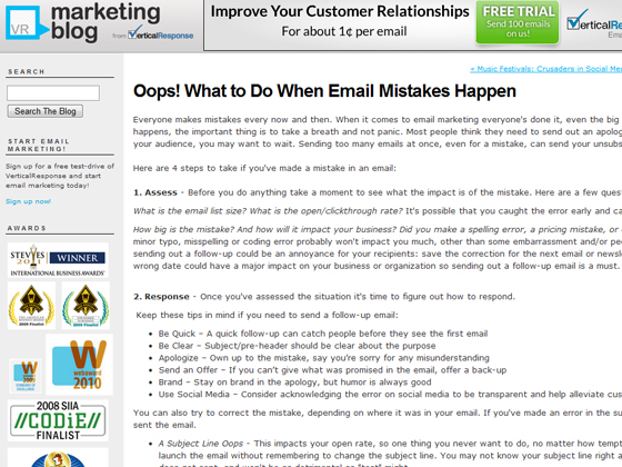 Oops! What to Do When Email Mistakes Happen