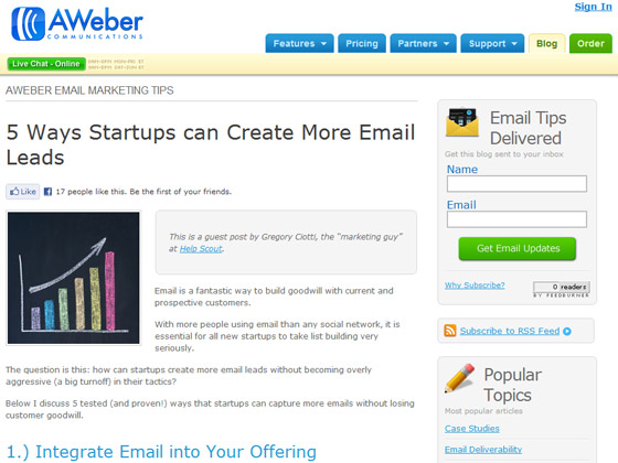 5 Ways Startups can Create More Email Leads