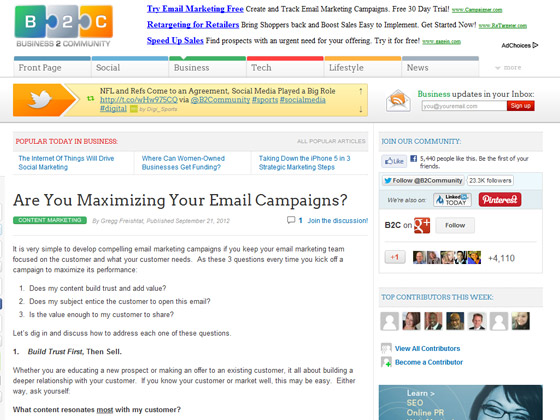 Are You Maximizing Your Email Campaigns?