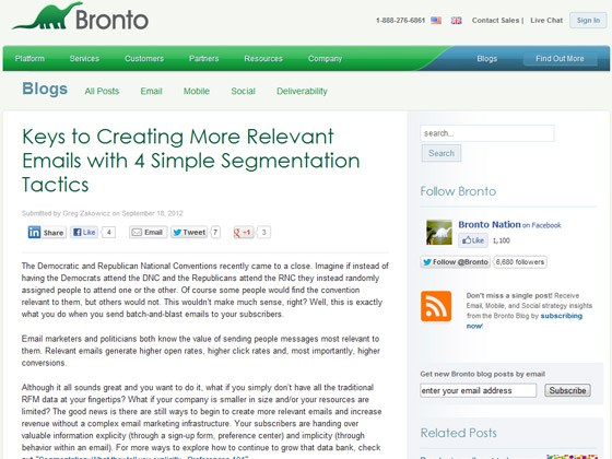 Keys to Creating More Relevant Emails with 4 Simple Segmentation Tactics