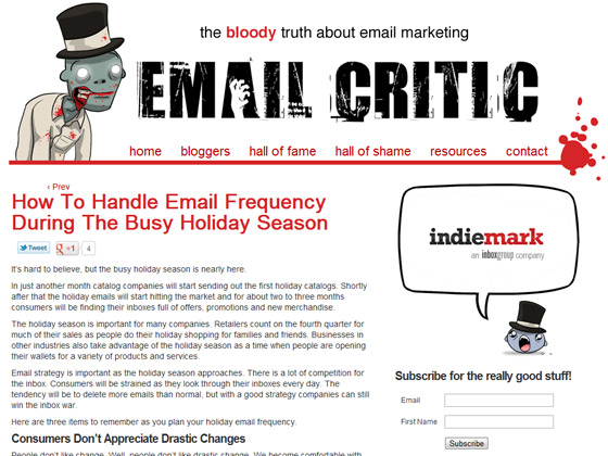 How To Handle Email Frequency During The Busy Holiday Season