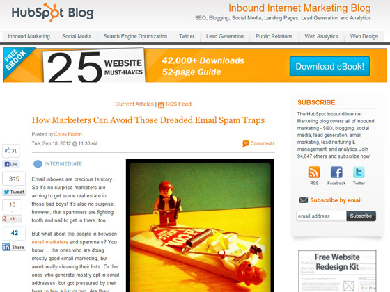 How Marketers Can Avoid Those Dreaded Email Spam Traps