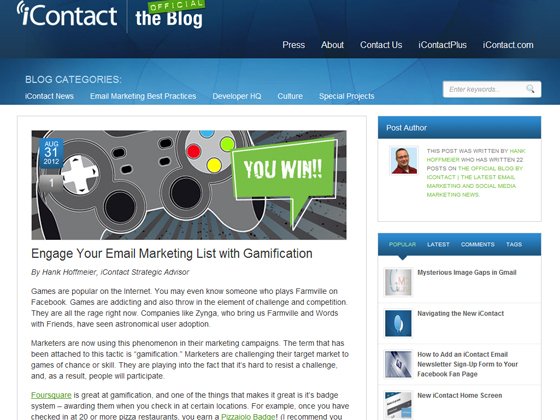 Engage Your Email Marketing List with Gamification