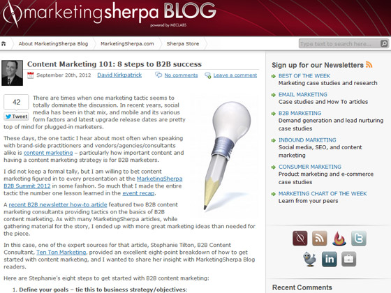 Content Marketing 101: 8 steps to B2B success