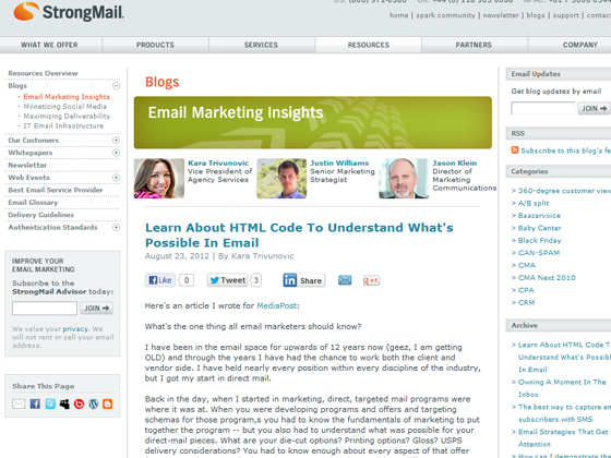 Learn About HTML Code To Understand What's Possible In Email