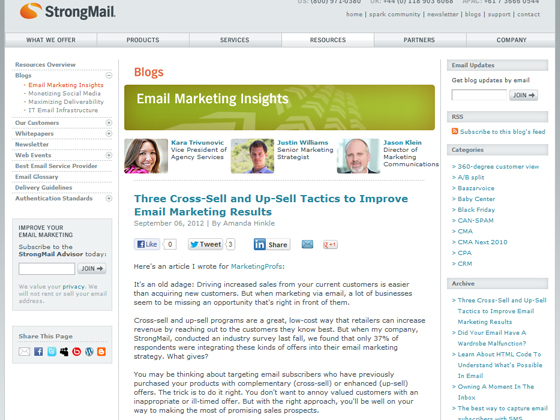 Three Cross-Sell and Up-Sell Tactics to Improve Email Marketing Results