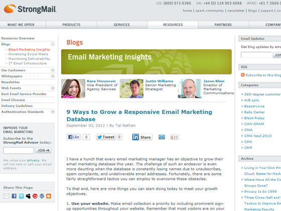 9 Ways to Grow a Responsive Email Marketing Database