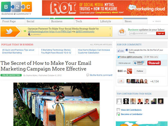 The Secret of How to Make Your Email Marketing Campaign More Effective