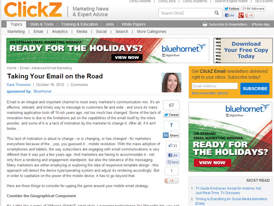 Taking Your Email on the Road