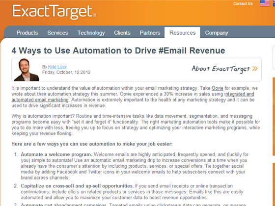 4 Ways to Use Automation to Drive #Email Revenue