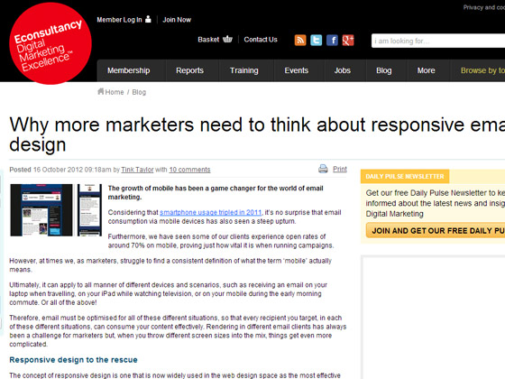 Why more marketers need to think about responsive email design