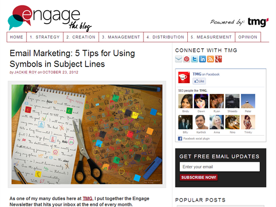 Email Marketing: 5 Tips for Using Symbols in Subject Lines