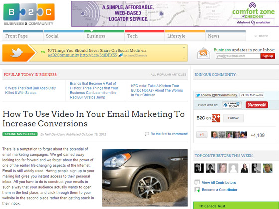 How To Use Video In Your Email Marketing To Increase Conversions