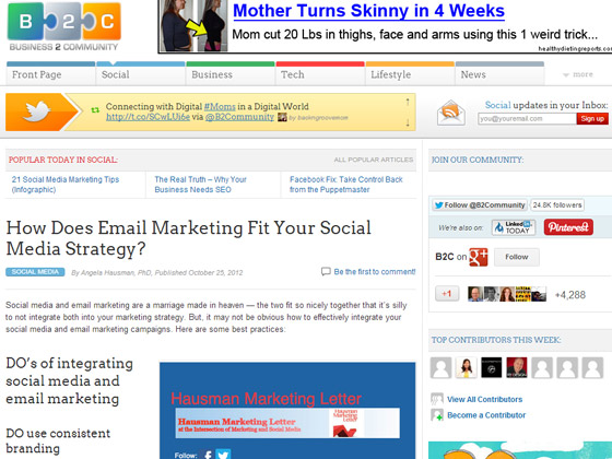 How Does Email Marketing Fit Your Social Media Strategy?
