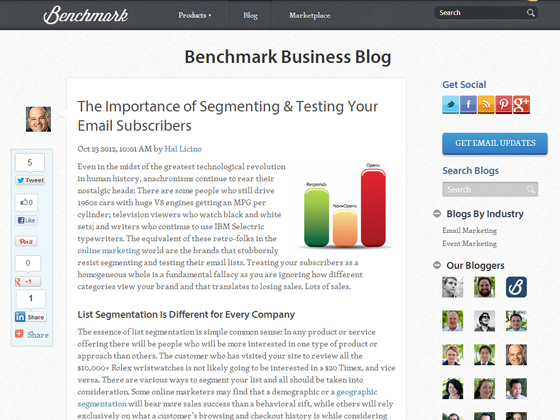 The Importance of Segmenting & Testing Your Email Subscribers