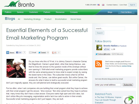 Essential Elements of a Successful Email Marketing Program