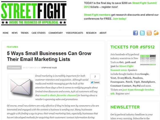 5 Ways Small Businesses Can Grow Their Email Marketing Lists