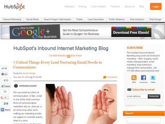 7 Critical Things Every Lead Nurturing Email Needs to Communicate