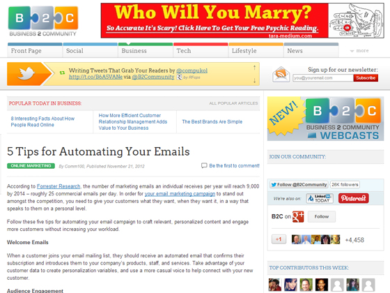 5 Tips for Automating Your Emails