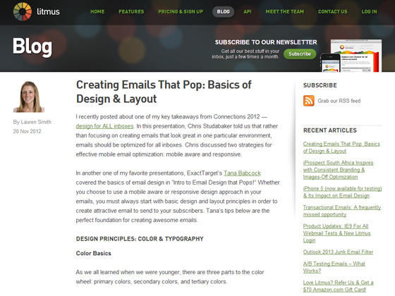 Creating Emails That Pop: Basics of Design & Layout