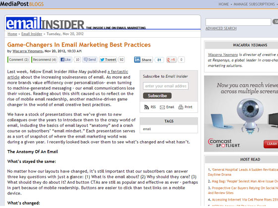 Game-Changers In Email Marketing Best Practices