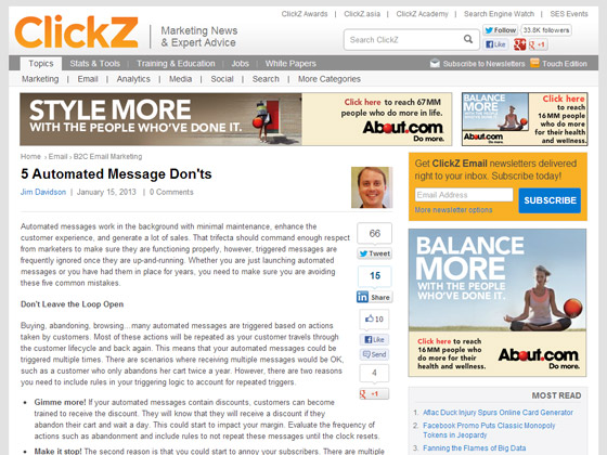 5 Automated Message Don'ts