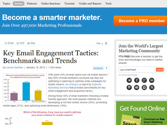 Key Email Engagement Tactics: Benchmarks and Trends