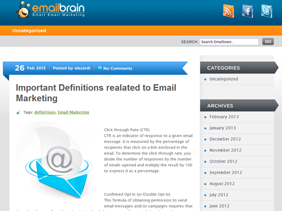Important Definitions realated to Email Marketing