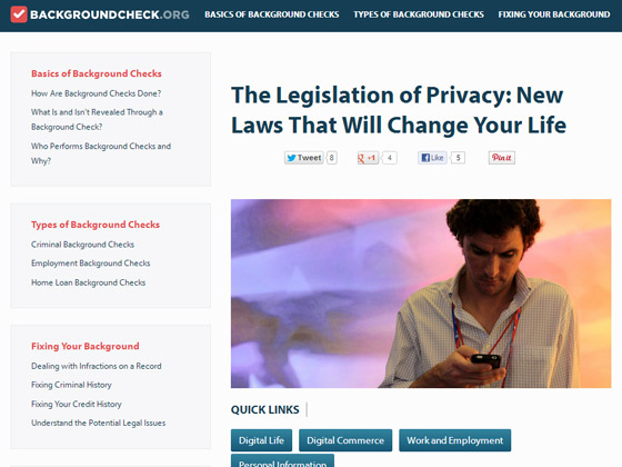 The Legislation of Privacy: New Laws That Will Change Your Life