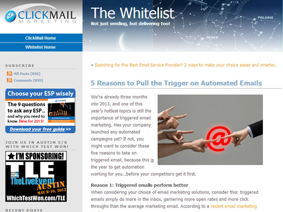 5 Reasons to Pull the Trigger on Automated Emails