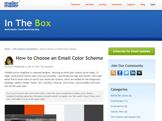 How to Choose an Email Color Scheme