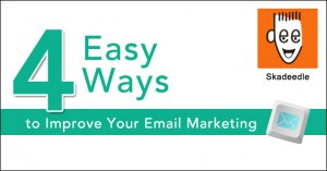 4 Easy Ways to Improve Your Email Marketing by @skadeedle