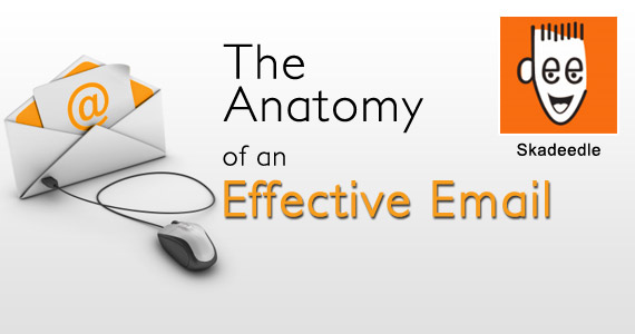 The Anatomy of an Effective Email by @skadeedle