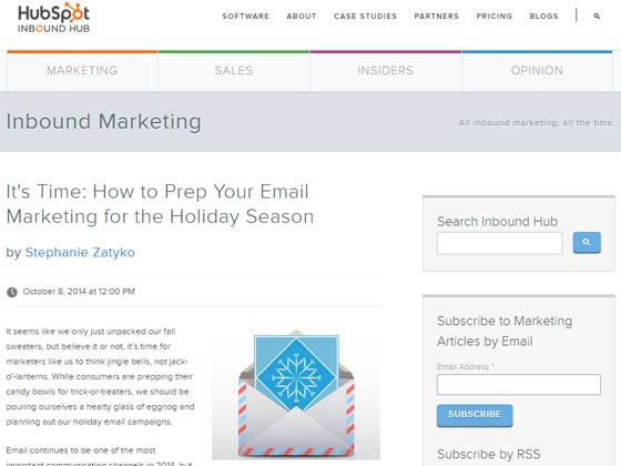 It's Time: How to Prep Your Email Marketing for the Holiday Season