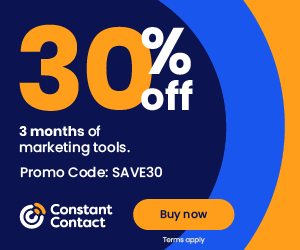 Constant Contact Save 30%