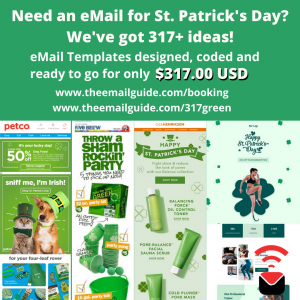 St. Patrick's Day eMail Marketing Templates