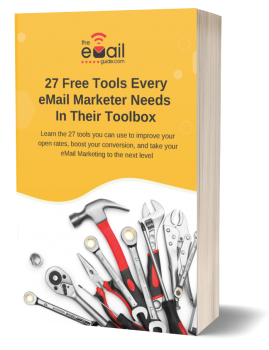 Download our free guide 27 Free Tools Every eMail Marketer Needs in Their Toolbox