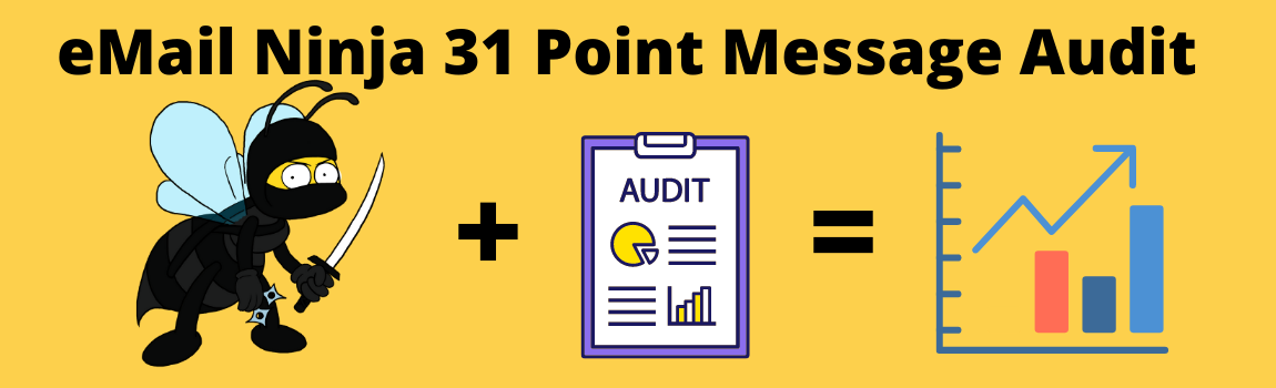 Get your free email marketing audit
