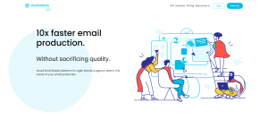 chamaileon email template designer